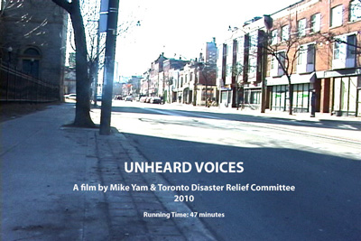 Unheard Voices, film by Mike Yam